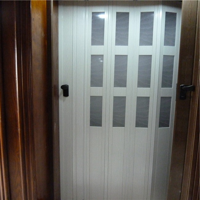 Folding Plastic Sliding Door Dubai: Pvc Partition Wall Interior Door Folding Door