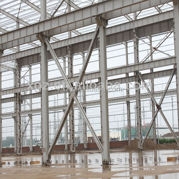 anti-seismic structrual prefab light steel structure hanger