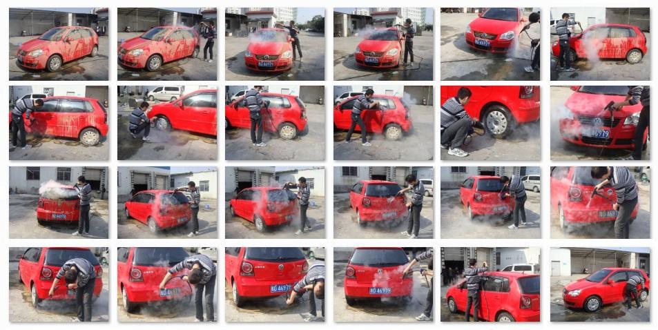 2015 No Boiler Steam Jet Gun Electric Steam Car Washing Machine ...