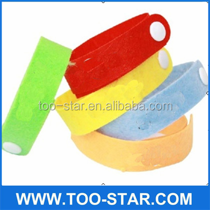 Factory price mosquito repellent wrist bands