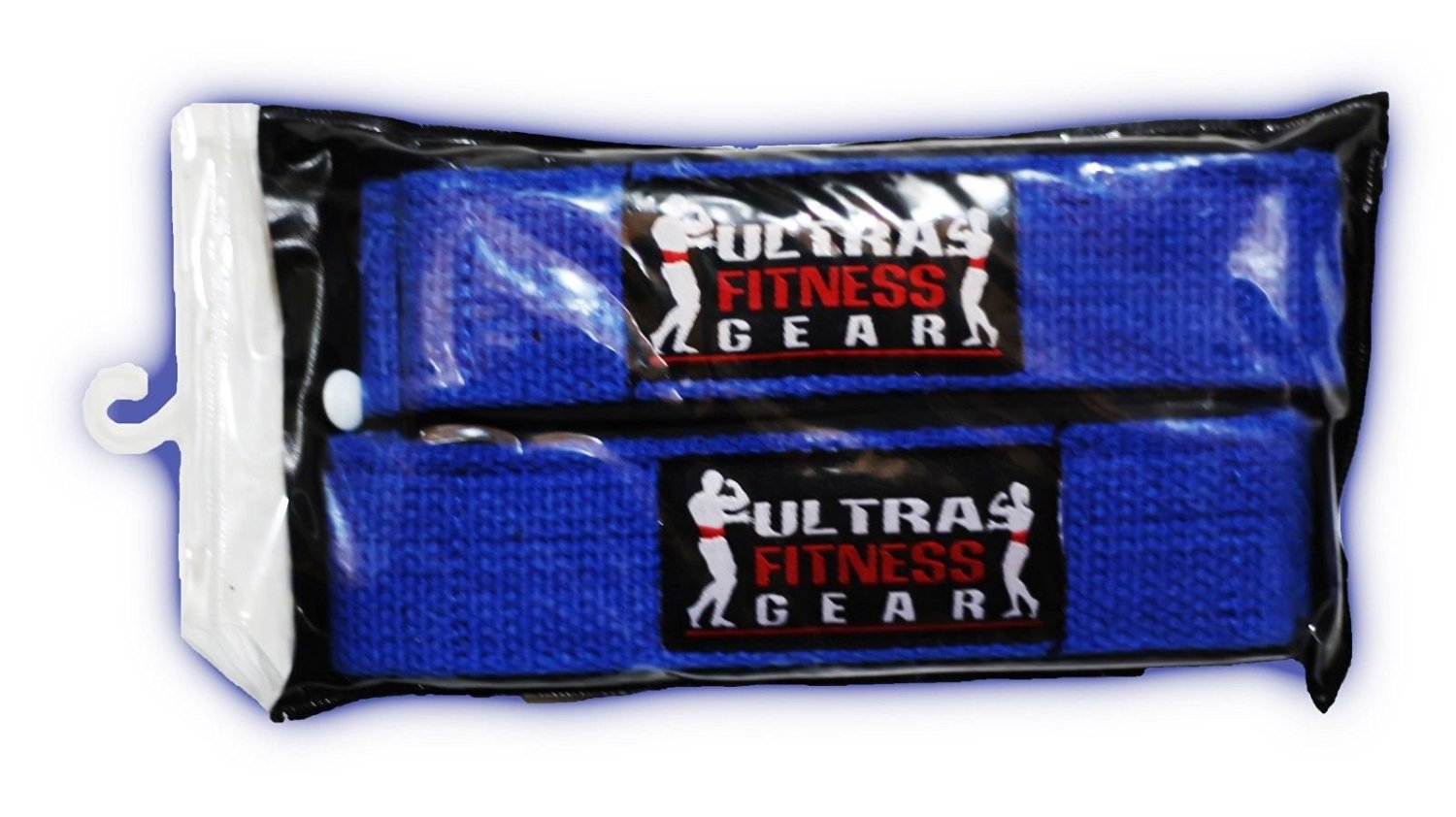 """Ultra Fitness Gear 4"""" Classic Leather Weight Lifting Belt (Blue)"""