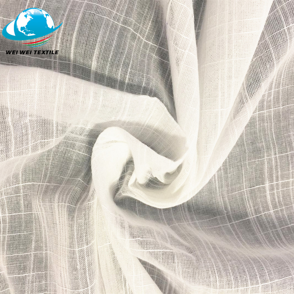 Wholesale Thin Cotton Voile Fabric 44 Inch Width At 100M Roll
