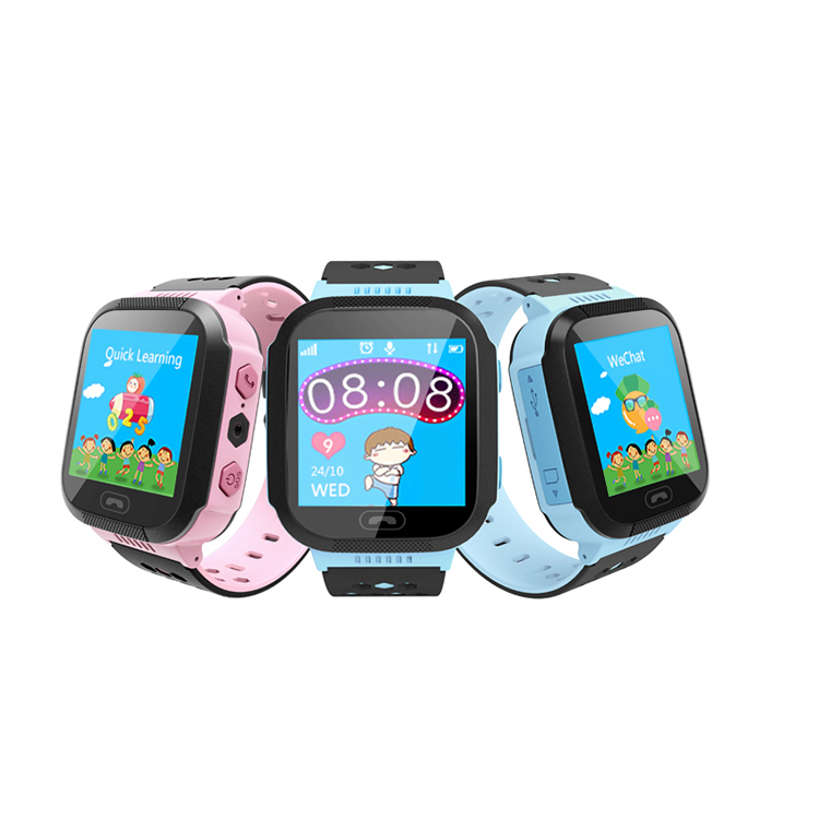 Voice Calling SOS Alarm Remote Monitoring Kids GPS Watch with Game Q528