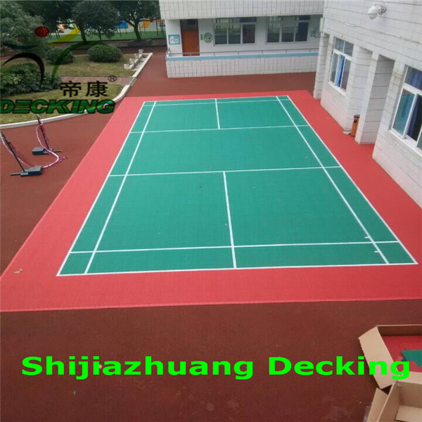 Portable modular pp sport court tile price buy sport for Sport court pricing
