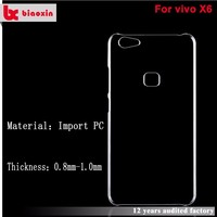 Wholesale creative shockproof transparent crystal mobile phone cover agent for vivo x5
