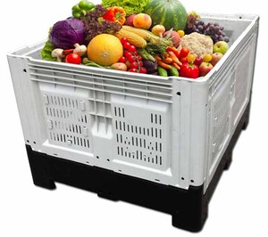 1200x1000x860mm china manufacturer new products hot plastic fruit crate for sale