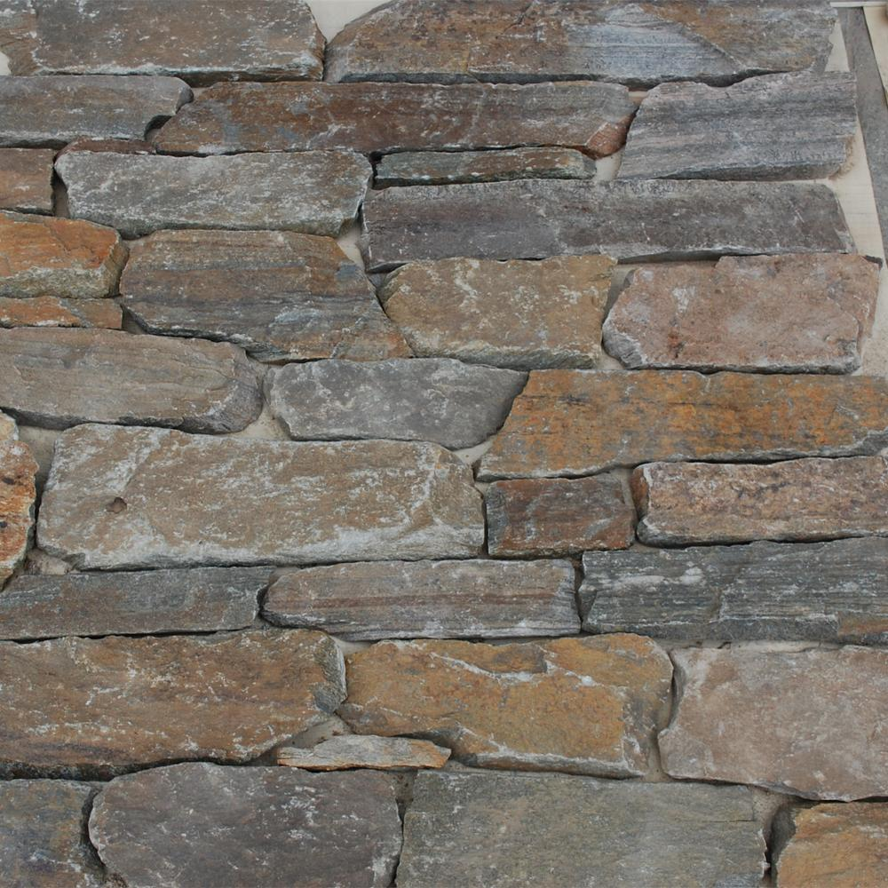 Cheapest Place To Buy Bricks: Cheap Thin Rusty Natural Slate Facing Stone Wall Cladding