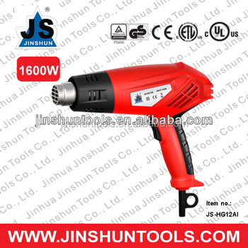 1600W Cored Electric Helper on Paint Romoving Hot Air Heat Gun