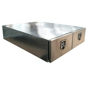 Custom Aluminum Under Ute Tray Tool Box Trundle Drawer Ute Storage Tool Box