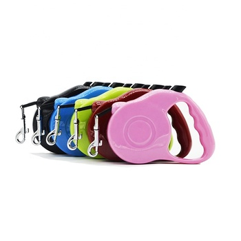 Manufacturing Colorful Double Led Heavy Duty Retractable Dog Leash