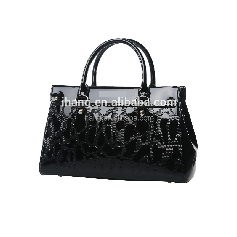 China customized hot fashion design your own leather handbag bags women lady