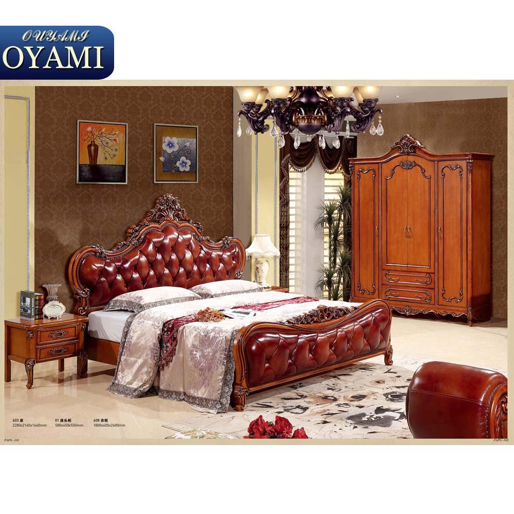 Top class wooden slats high quality mdf bedroom furniture