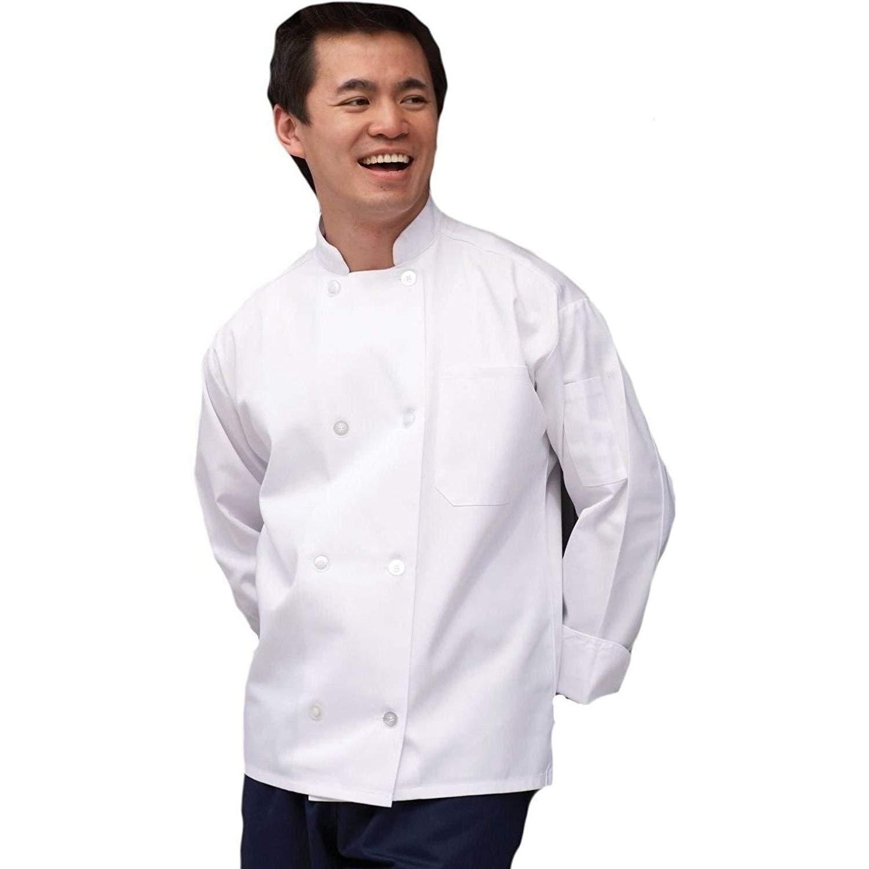 Uncommon Threads The Uncommon Chef Coat in White