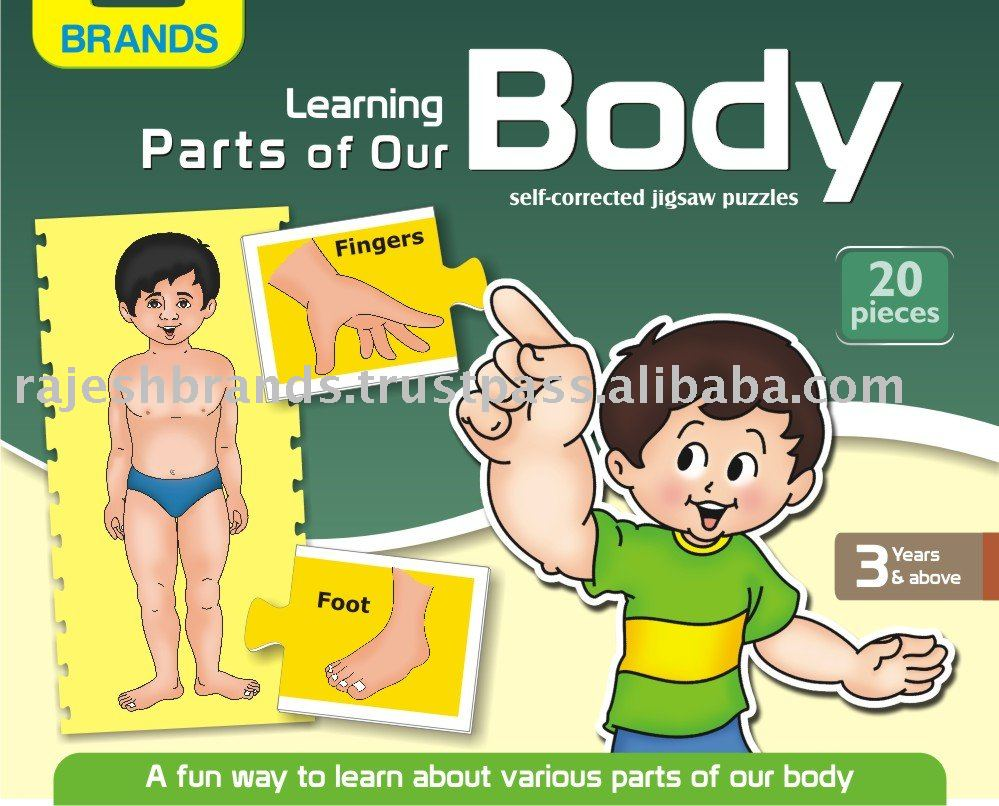 Learning Parts Of Our Body Buy Puzzlejigsaw Puzzle Product On