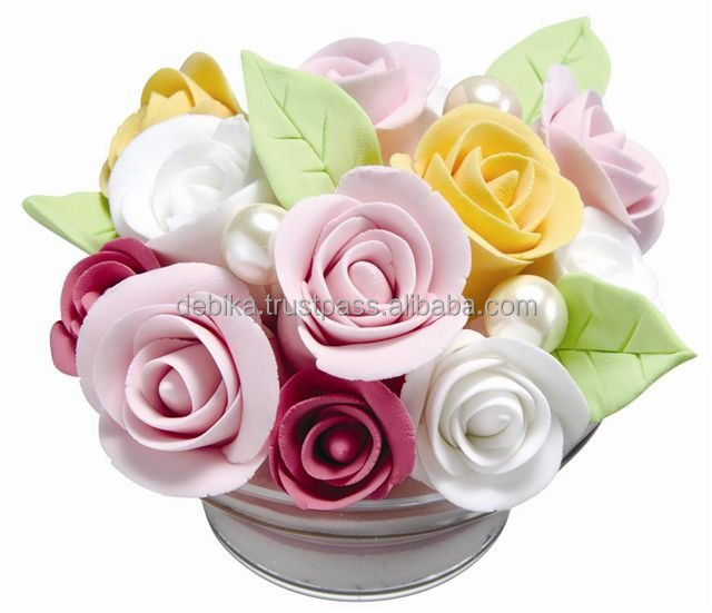 Hand Craft Paper Clay Set - Diy Fragrant Flower Cup Made In Japan ...