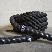 Crossfit gym workout força núcleo treinamento battle/battle rope