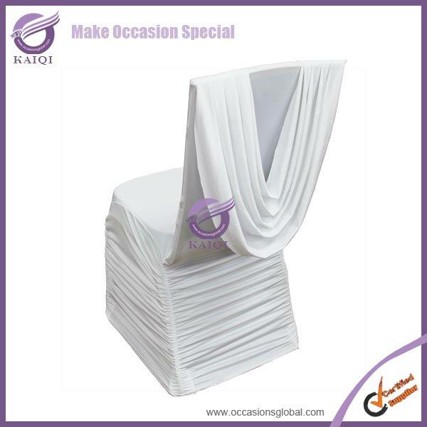 Wholesale 430 wholesale ruffle stretch spandex lycra wedding ...