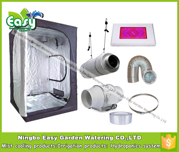 Complete indoor grow tent kits with 120W LED grow light and ventilation equipment. size 120x120x200mm  sc 1 st  Ningbo Easy Garden Watering Co. Ltd. - Alibaba : complete led grow tent - memphite.com