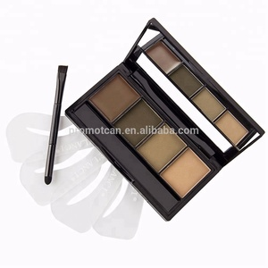 Wholesale white face makeup 4colors with brush eyeshadow palettes