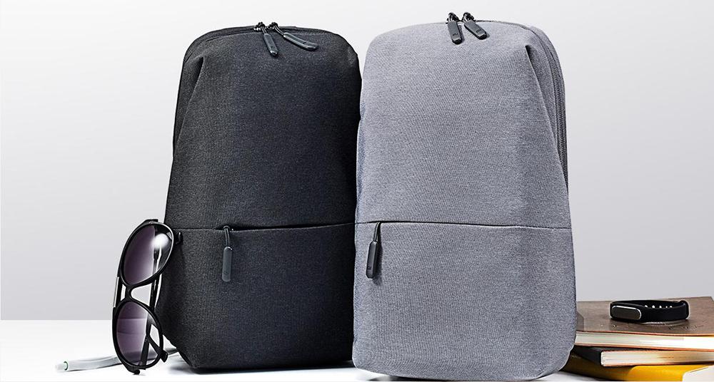 Original Xiaomi Backpack Mi City Sling Bag Leisure Chest Pack Small Size  Shoulder Type Unisex Rucksack ec2174d1959