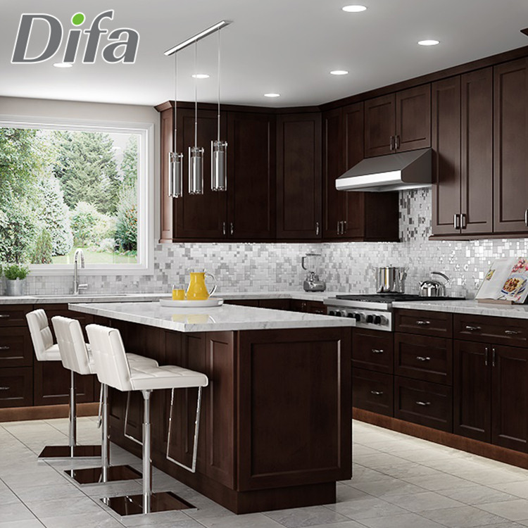 Shaker Style Modern Cheap Custom Kitchen Cabinets For ...