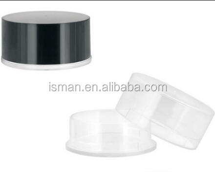 Empty loose powder make up case packaging for cosmetics