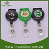 Lovecolour specilized custom logo retractable badge reels