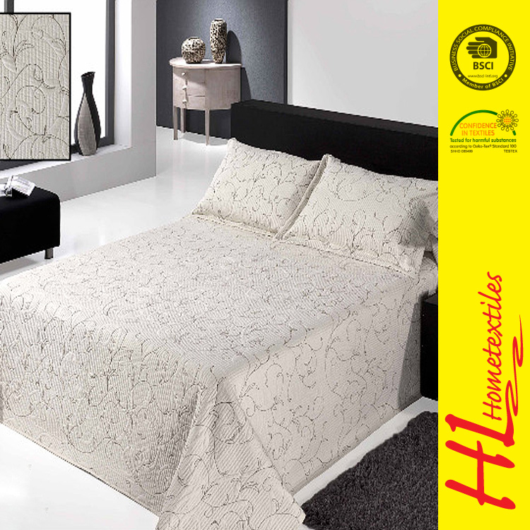 free sample available home decoration jacquard damask bedding set