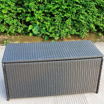 Enjoyable Wicker Pe Rattan Storage Bench And Ottoman Buy Storage Bench And Ottoman Rattan Storage Ottomans Outdoor Storage Bench Product On Alibaba Com Pabps2019 Chair Design Images Pabps2019Com