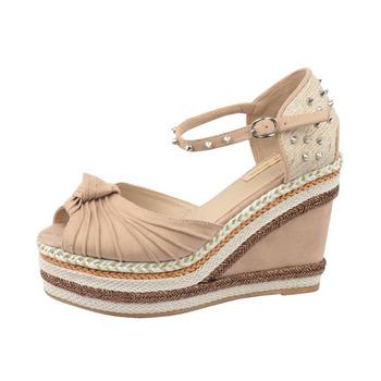8008c6a886ec 2017 Latest Fancy Ladies Sandals Heel Women Wedge Shoes - Buy Wedge  Shoes
