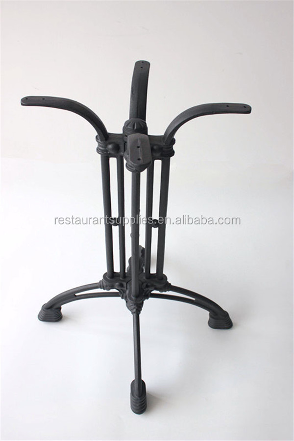 Black Tulip Table Base Cast Iron Table Base Iron Leg For Dining Table