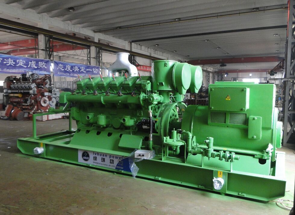 400kw Natural Gas Generator Set Water Cooled 24 V Electric Start ...