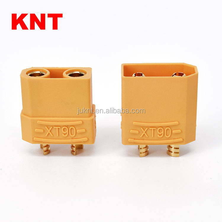 KNT XT90 Gold Plated RC Connector Male Female