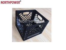 hot sell 16 Quart Plastic milk crate