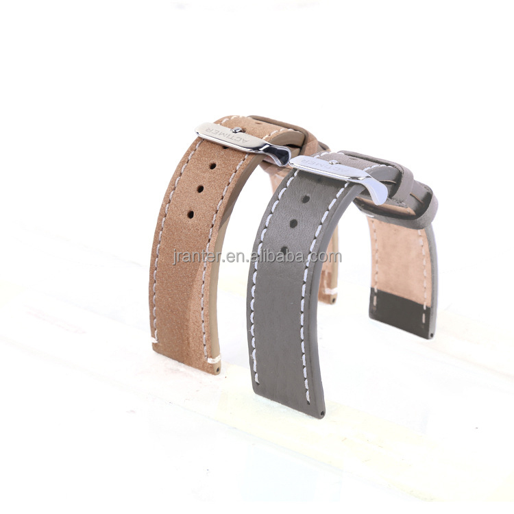 Casual Style Handmade Men Genuine Leather Watchband