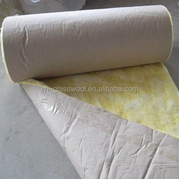 Glass Wool Blanket With Alum.foil Faced One Side/glass Wool For ...