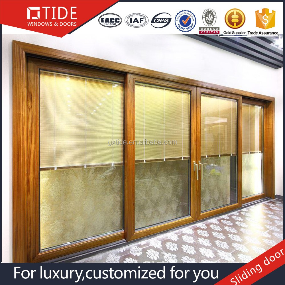 For Apartment tempered glass sliding door