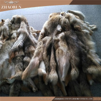 Real high quality Animal Fur Tan Coyote Fur pelt