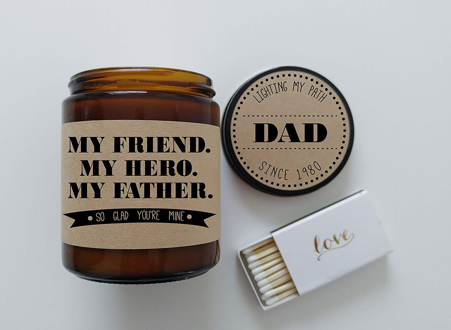 Get Quotations Gift For Dad Fathers Day My Friend Hero Father Birthday