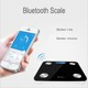 180 kg Bathroom Body Weight Fat Analysis body fat muscle water bone analyzing bluetooth scale for tracking