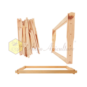 Bee hive frame factory directly supplies wood bee frame beehive frame