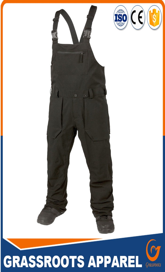 factory customize  good quality T/C working bib pant overall/ new fashion design men bib overalls for working