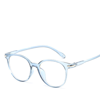 2018 Fashion Women Glasses Frame Men Eyeglasses Frame Anti Blue Light Vintage Round Clear Lens Glasses Optical Spectacle Frame