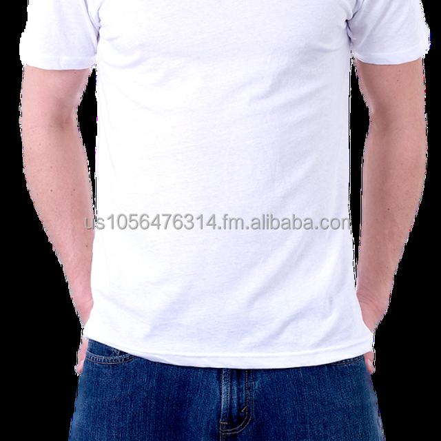 White Cotton Blank Cotton T-Shirts - Wholesale - US Provider