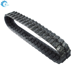 high quality mini rubber track rubber tracks for kubota machine