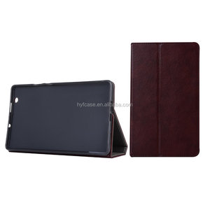 Foldable stand folio magnetic leather case for Huawei M3 8.4 Inch cardholder tablet cover