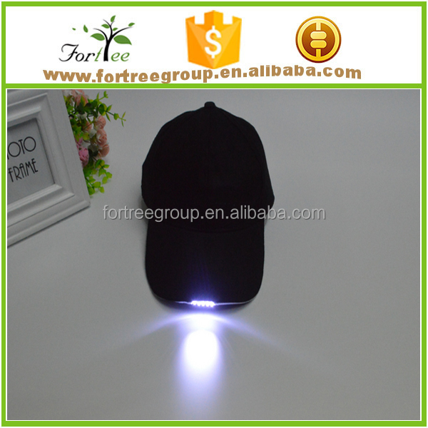 wholesale lighted baseball caps hats led cap manufacturers