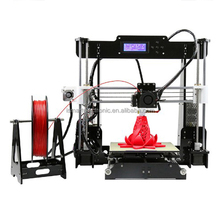 Upgraded 24V Power Supply Reprap Prusa 3D Printer Kits Desktop Acrylic Frame Personal DIY Self-assembly Machine