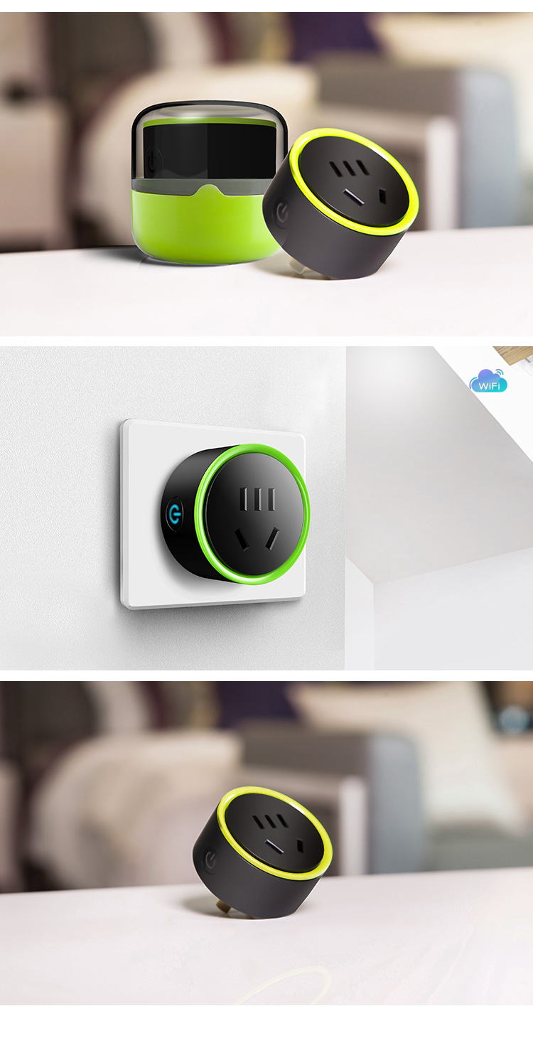 2018 nuevo smart wifi habilitado enchufe inteligente interruptor wifi Mini pro es/CN eliges konke
