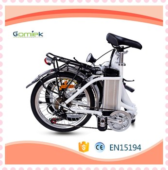 35km Mileage 30 Km H Lithium Ion Cell Electro Electric Bike